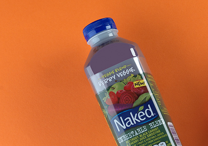Naked Berry Veggie smoothie in a bottle