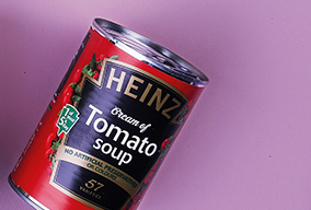 tin of Heinz Cream of Tomato Soup